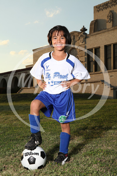 St Paul CYO Soccer Portrait Shoot