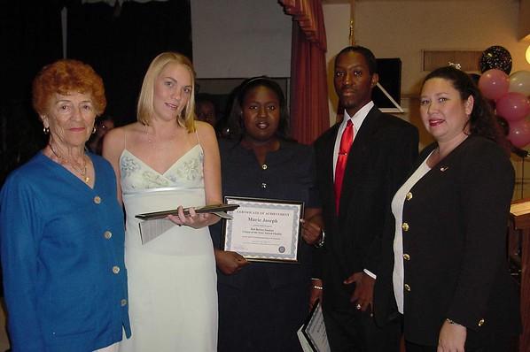 Bob Borovy Award Recipients