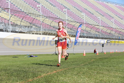 Finish Gallery 1, D3 GIRLS - 2016 MHSAA LP XC FINALS