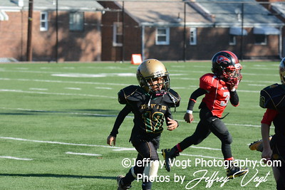 10-25-2014 Montgomery Village Sports Association Chiefs vs Forestville Red Tiny Mites, Photos by Jeffrey Vogt Photography