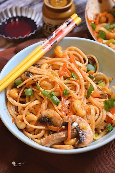 Thai Cashew Noodles