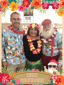 Urology Centers of Alabama Christmas Luau 2019