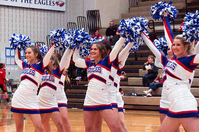 LB BBK Cheerleaders' Halftime Performance (2019-01-04)