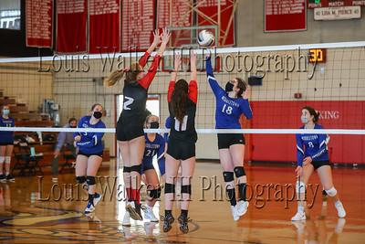 Volleyball Playoffs Middletown at Rogers on 4/27/21