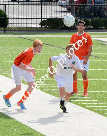 Trinity vs DeSales Soccer - Freshmen