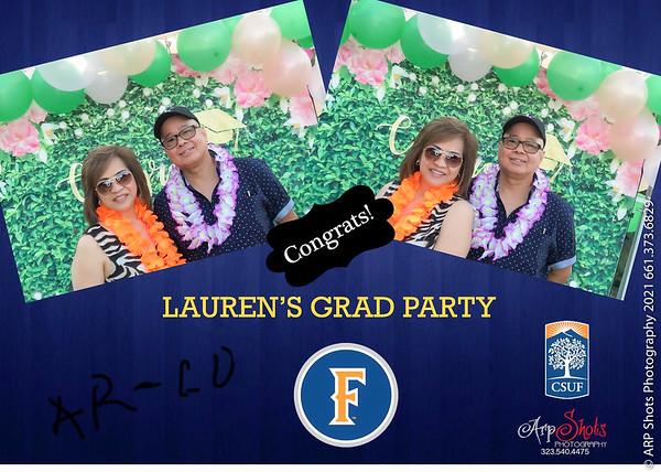 Lauren's Grad Party Photobooth
