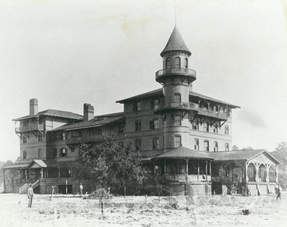 "Jekyll Island Club (built 1887). Jekyll Island was purchased in 1886 by a group of America's most elite families, to become their exclusive winter retreat known as the Jekyll Island Club. For more than half a century, the nation's leading families, including the Rockefellers, Morgans, Pulitzers, and Goulds came to Jekyll Island ""to secure an escape."" After the depression and WWII, the resort declined, and in 1947, the state of Georgia condemned the island and paid the remaining members a total of $675,000. Undated photo."
