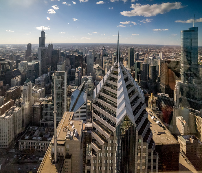 Skyline from the AON Center West View