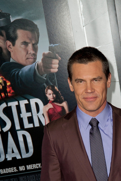 HOLLYWOOD, CA - JANUARY 07: Actor Josh Brolin arrives at Warner Bros. Pictures' 'Gangster Squad' premiere at Grauman's Chinese Theatre on Monday, January 7, 2013 in Hollywood, California. (Photo by Tom Sorensen/Moovieboy Pictures)