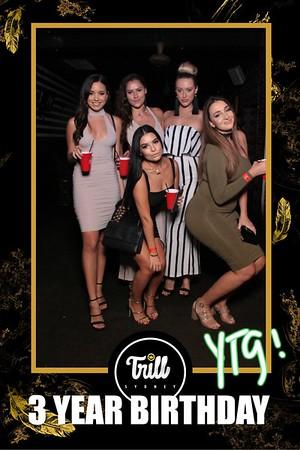Trill Sydney 3 Year Birthday - 25 November 2017