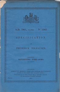 Javelle British Patent no. 1362 from 1861