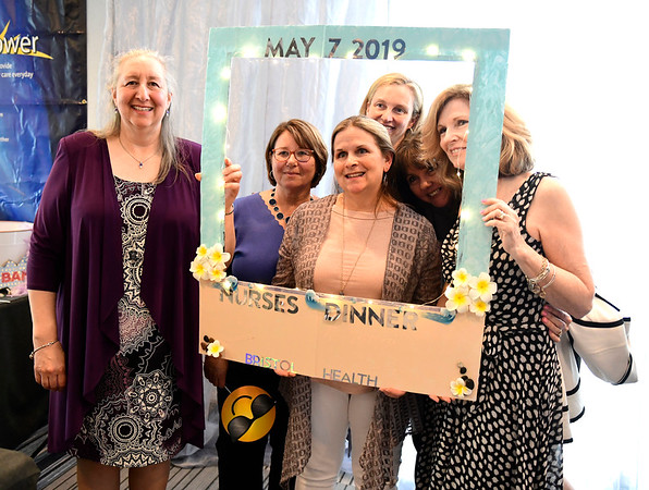5/7/2019 Mike Orazzi | Staff Bristol Hospital staff during the 3rd Annual Nursing Dinner held at the DoubleTree by Hilton Hotel Thursday night in Bristol.