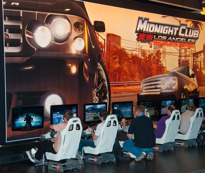 Midnight Club: LA at GamesCom