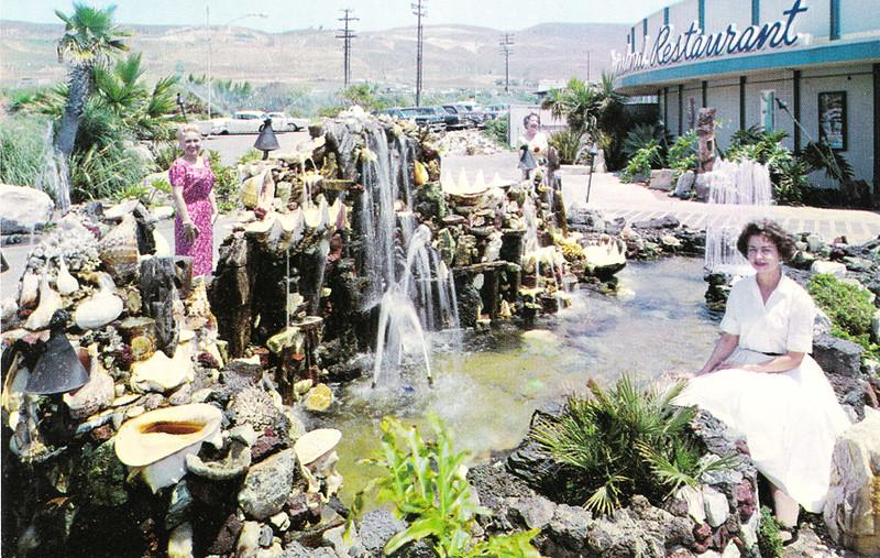 Marineland Restaurant Pond