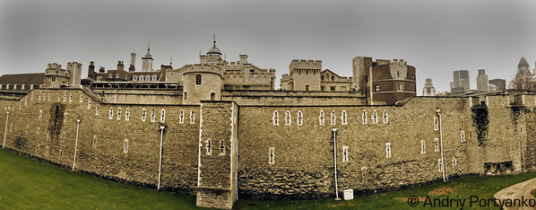TheTower Bridge Castle Panorama