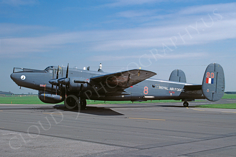 Avro Shackelton 00001 Avro Shackelton British RAF 1990 via African Aviation Slide Service.JPG