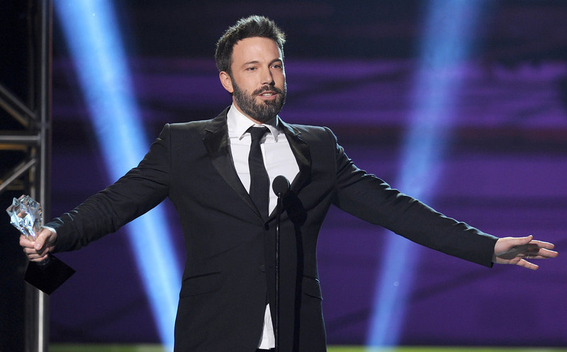 . Director Ben Affleck onstage at the 18th Annual Critics\' Choice Movie Awards held at Barker Hangar on January 10, 2013 in Santa Monica, California.  (Photo by Kevin Winter/Getty Images)