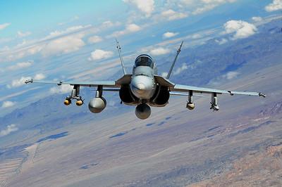 Marine WTI School, Yuma, AZ 09/26/2014 KC-130 to F/A-18