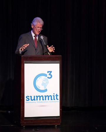 C3 Summit featuring President William J. Clinton