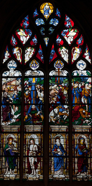 Pont-Audemer, The Saint-Peter Window