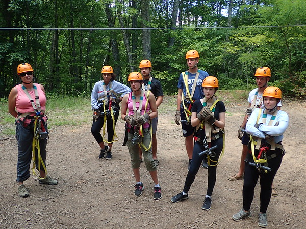 Nantahala Outdoor Senior Trip 2017