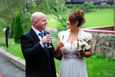Morten og Vandecis brylllup