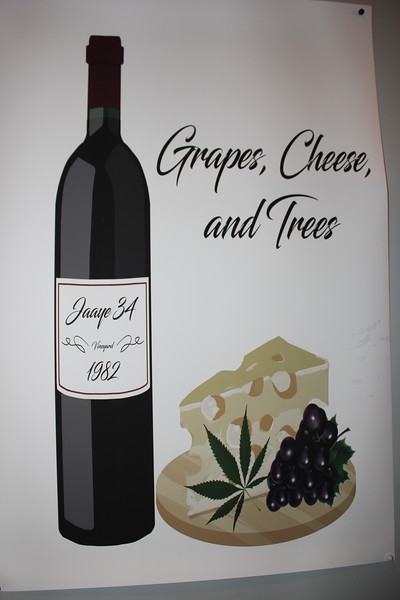 Jaaye's 34th Grapes Cheese and Trees