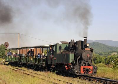 Bosnia: Banovici coalfield railway, 2014 1