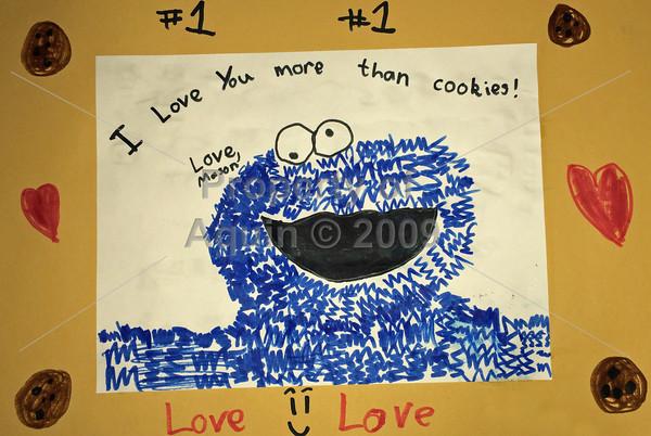 i love you more than cookies! . 5.19.14
