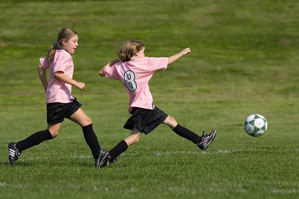 Firebirds Soccer U10 Girls 2007 Sep 8