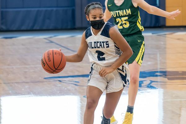 2021 Girls JV Basketball vs. Putnam