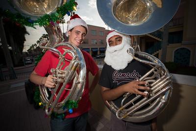 December 15th, 2013 FAU Tuba Christmas at Count de Hoernle Amphitheater at Mizner Park