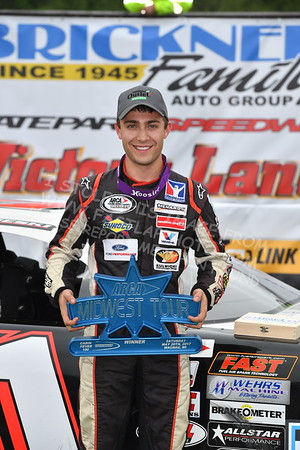 "ARCA Midwest Tour ""Cabin Fever 100"" Victory Lane"