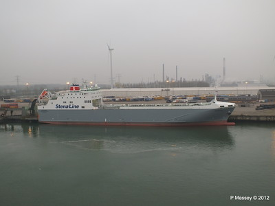 Vessels at Europoort, Rotterdam 16 Nov 2012