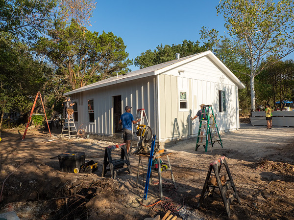 9/18 - Insulation and Exterior Paint