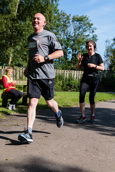 Participants in the 20th Blackpool Parkrun.