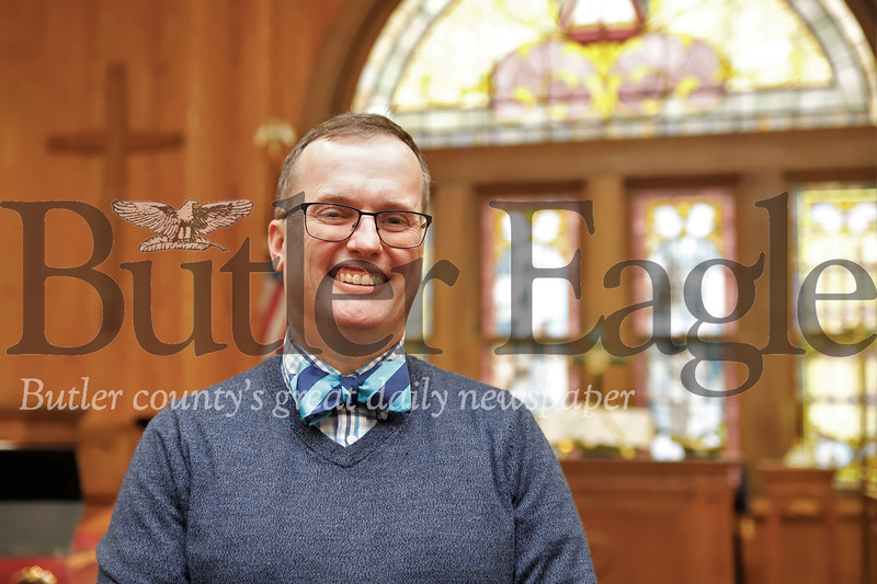 Rev. John Nelson, pastor at Park United Presbyterian Church in Zelineople. Seb Foltz/Butler Eagle