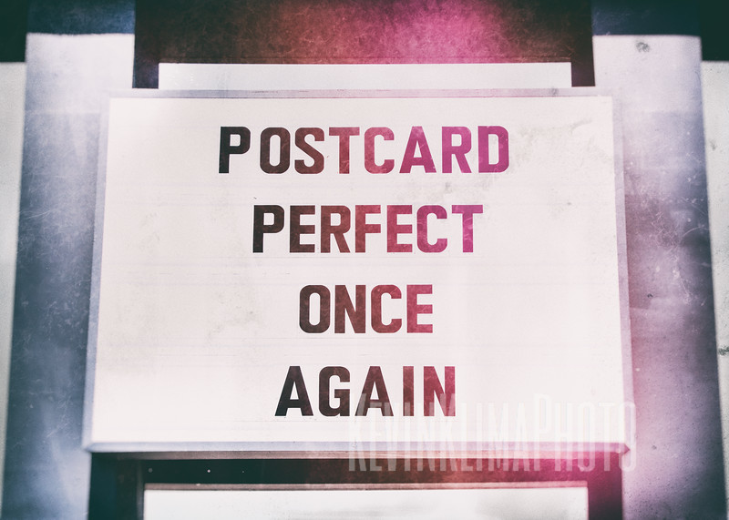 Postcard Perfect Once Again