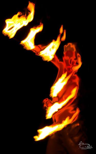 Flame Fan Dance Flame Fan Dance