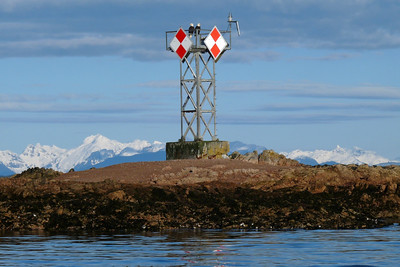Lookout Duty - Reef Marker March 2011, Cynthia Meyer, Tenakee Inlet, Alaska