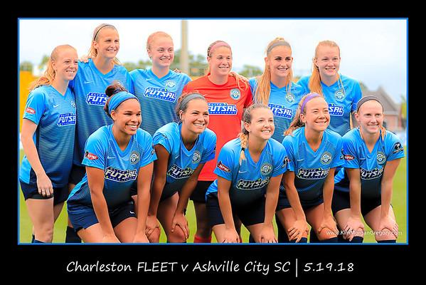 Charleston FLEET v Ashville City Soccer Club | 5.19.18