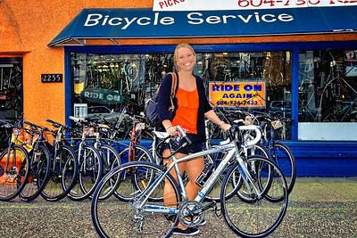 Mallory's New Bike