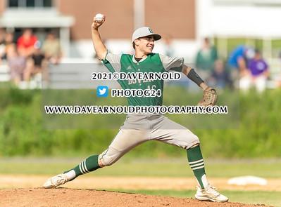 6/3/2021 - Varsity Baseball - NHIAA D1 Prelim - Dover vs Winnacunnet