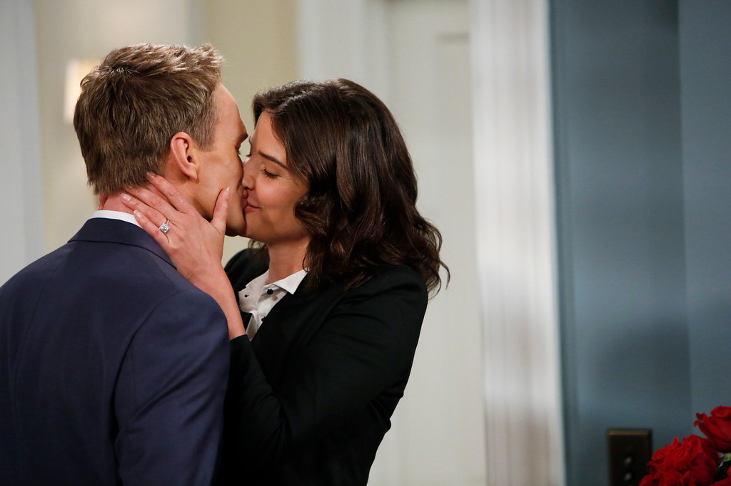 ". ""Coming Back\"" -- The wedding weekend is here! Robin (Cobie Smulders) and Barney (Neil Patrick Harris) share a tender moment before the chaos begins. The ninth season of HOW I MET YOUR MOTHER premieres with a special one-hour episode, Monday, Sept. 23 (8:00-9:00 PM, ET/PT) on the CBS Television Network.  Photo: Cliff Lipson/CBS  ���© 2013 CBS Broadcasting, Inc. All Rights Reserved."