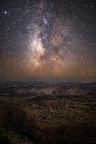 Milky Way over Escalante