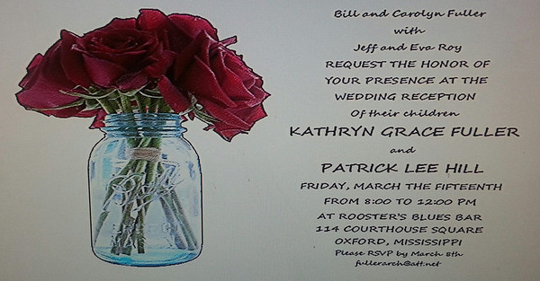 Kathryn and Patrick March 15, 2013