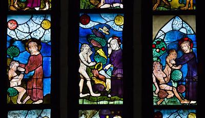 Frankfurt (Oder) - Glasfenster in der Marienkirche