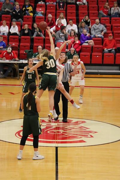 WHS Varsity Girls Basketball vs Pratt  120618