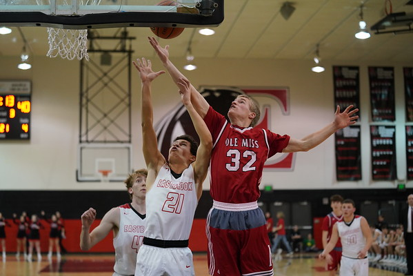 Mississinewa vs Eastbrook Basketball  2-15-19