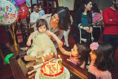 Diba's 1st birthday party